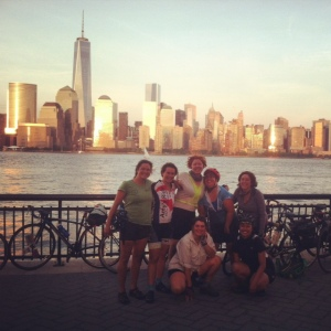 111 miles in one day. Thanks to our sag wagon support and the expertise of WEBikeNYC navigators!