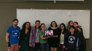 Our first FaceTime workshop, at the California Student Sustainability Convergence.